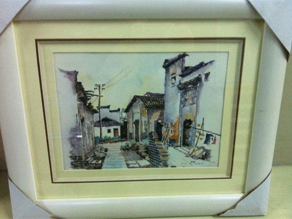 共展出作品171幅,其中油画37幅,钢笔画93幅,钢笔淡彩画41幅.